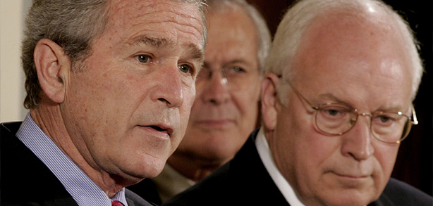 BUSH-CHENEY-RUMSFELD
